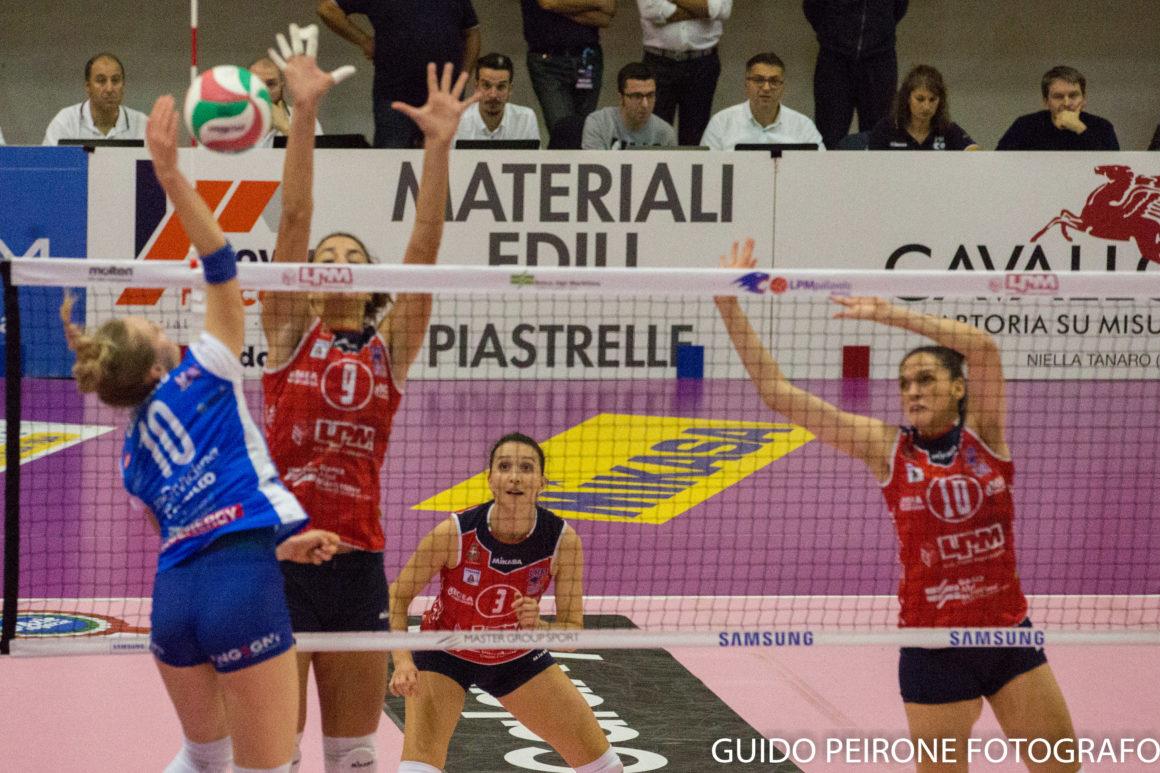 Coach Marco Gazzotti nel post Mondovì