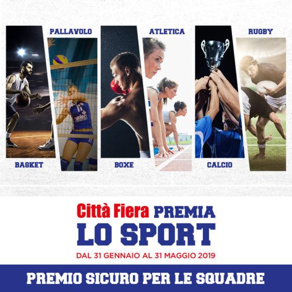 Il CC Città Fiera premia lo sport: sostienici!
