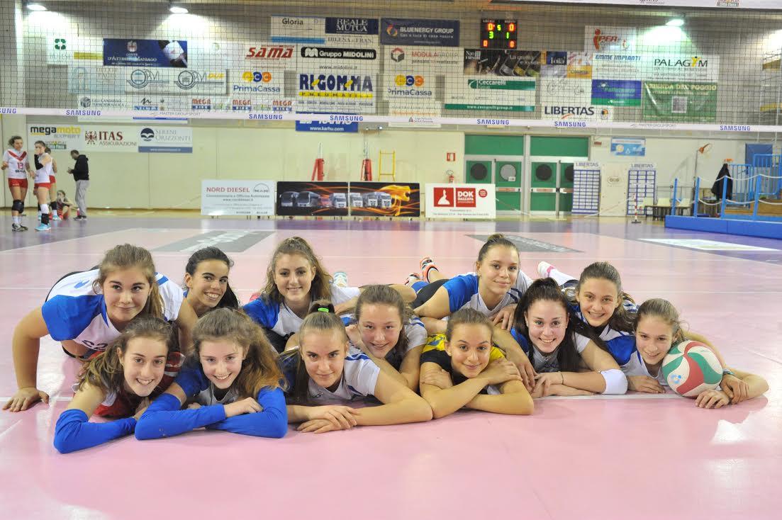 L'U16 bianca è imbattuta nel trofeo Friuli