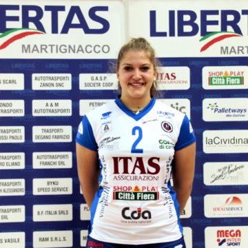 Alice Turco richiamata dal Club Italia!