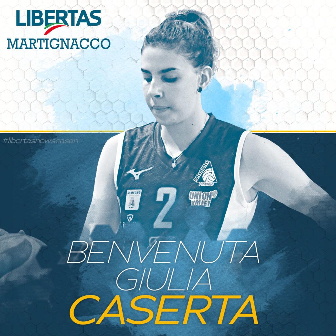 L'Itas Città Fiera annuncia Giulia Caserta!