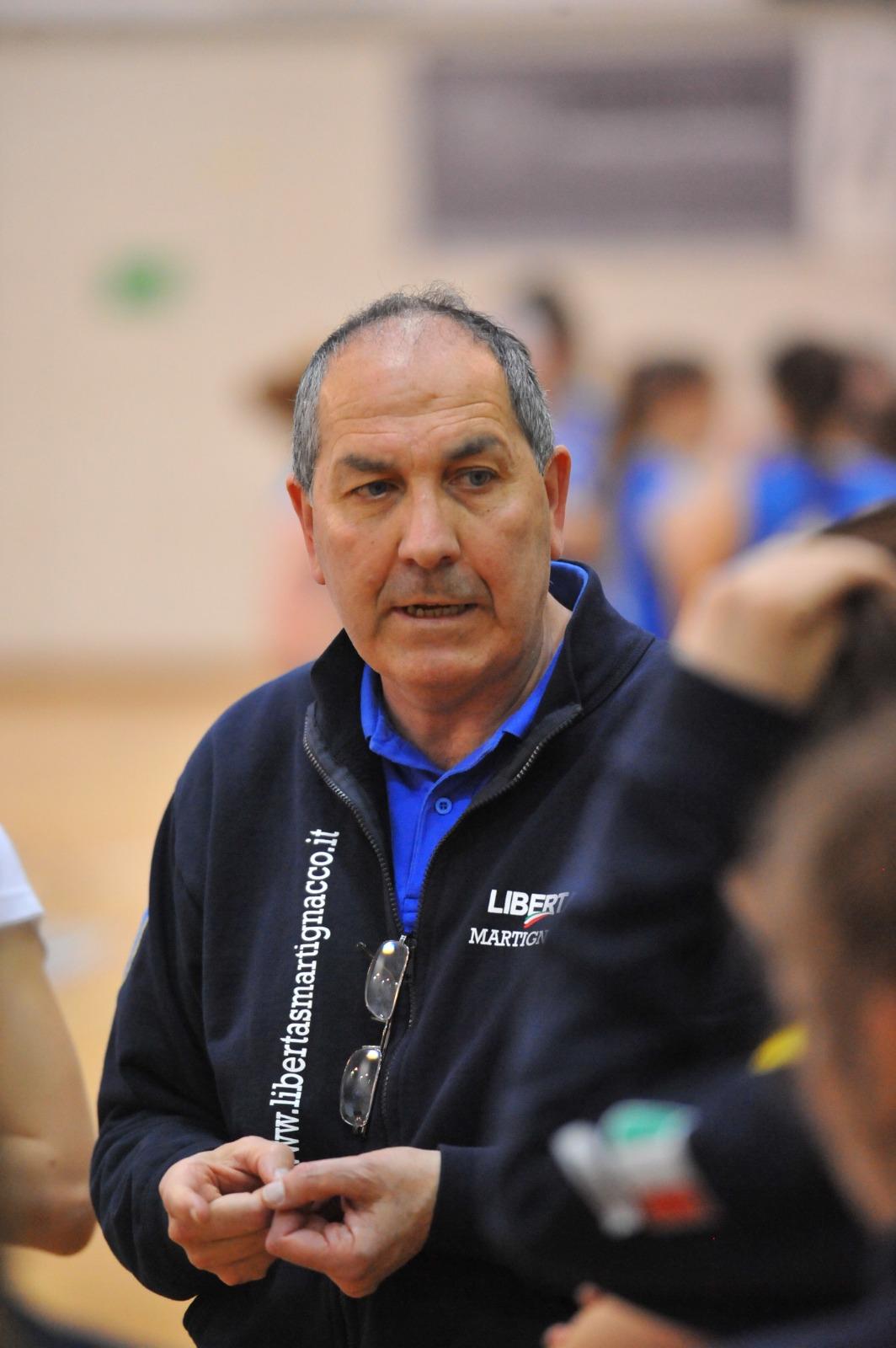 Michelino De Carlo nuovo coach delle U14