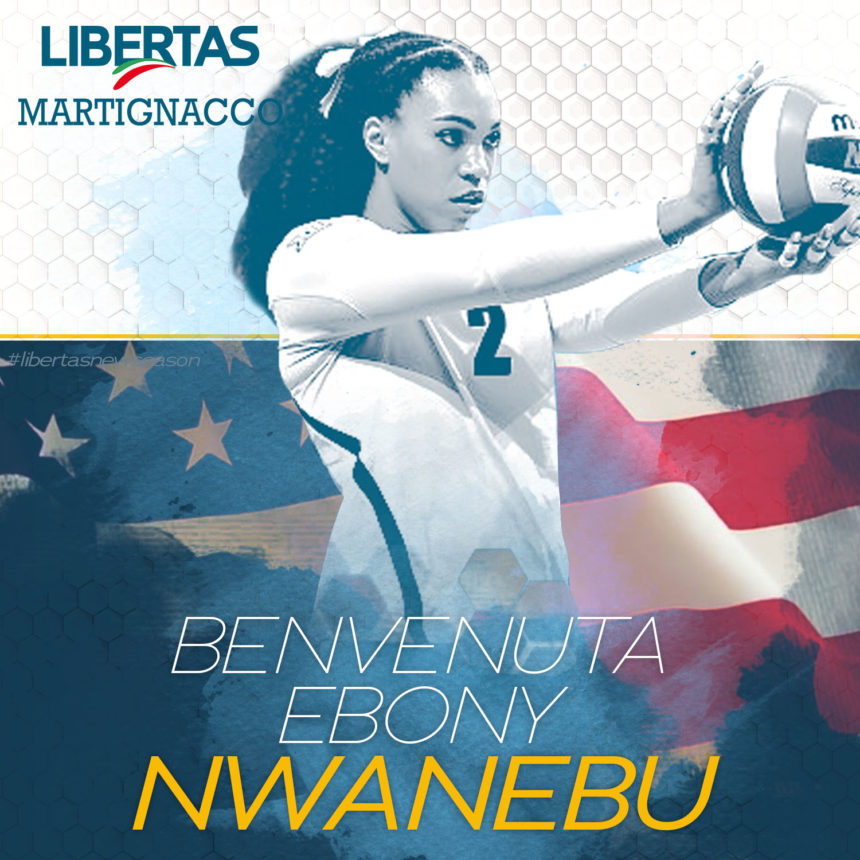 L'Itas Città Fiera cala… l'Usa: arriva Nwanebu!