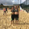 Capitan Lara terza a beach volley a Londra