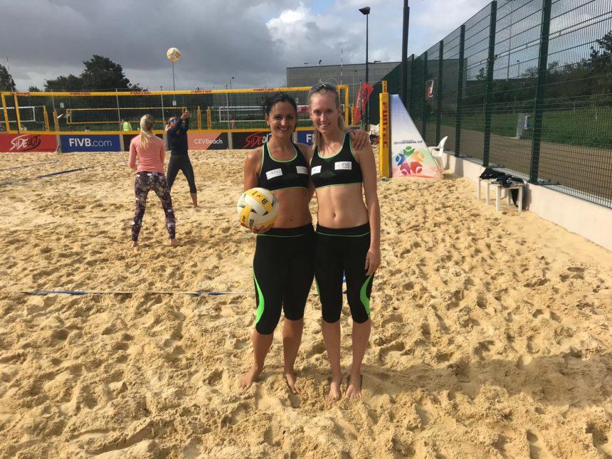 Capitan Lara terza a beach volley a Londra