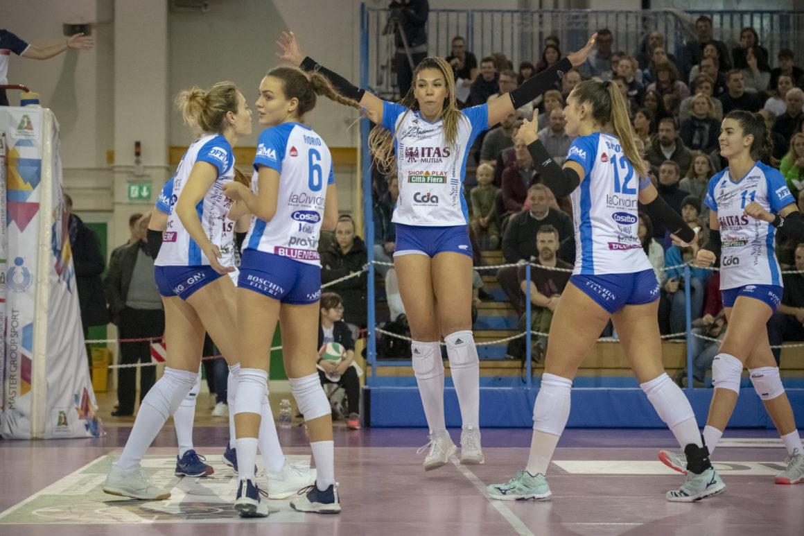 Itas Città Fiera – Club Italia 3-2