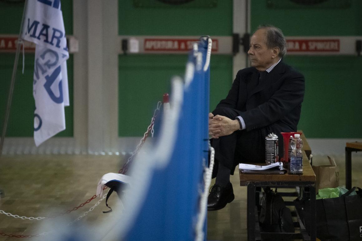 Il presidente Ceccarelli festeggia i 2 punti
