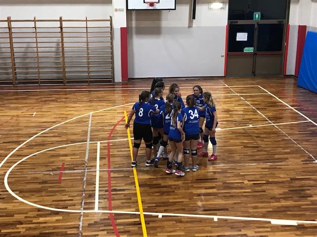 U13: rotonda vittoria contro il Selena volley