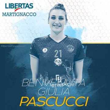 L'Itas Città Fiera piazza un colpaccio: Giulia Pascucci!