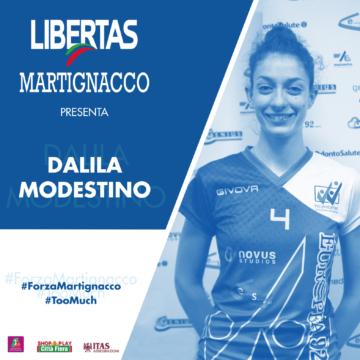 L'Itas Città Fiera presenta Dalila Modestino
