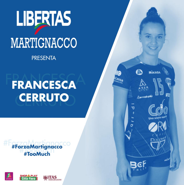 L'Itas Città Fiera presenta Francesca Cerruto