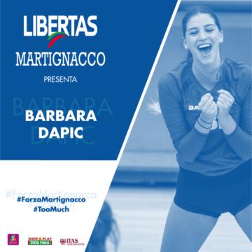 L'Itas Città Fiera presenta Barbara Dapic