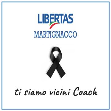 Altro lutto in casa Libertas: condoglianze a coach Gazzotti