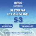 Si torna in palestra col volley S3