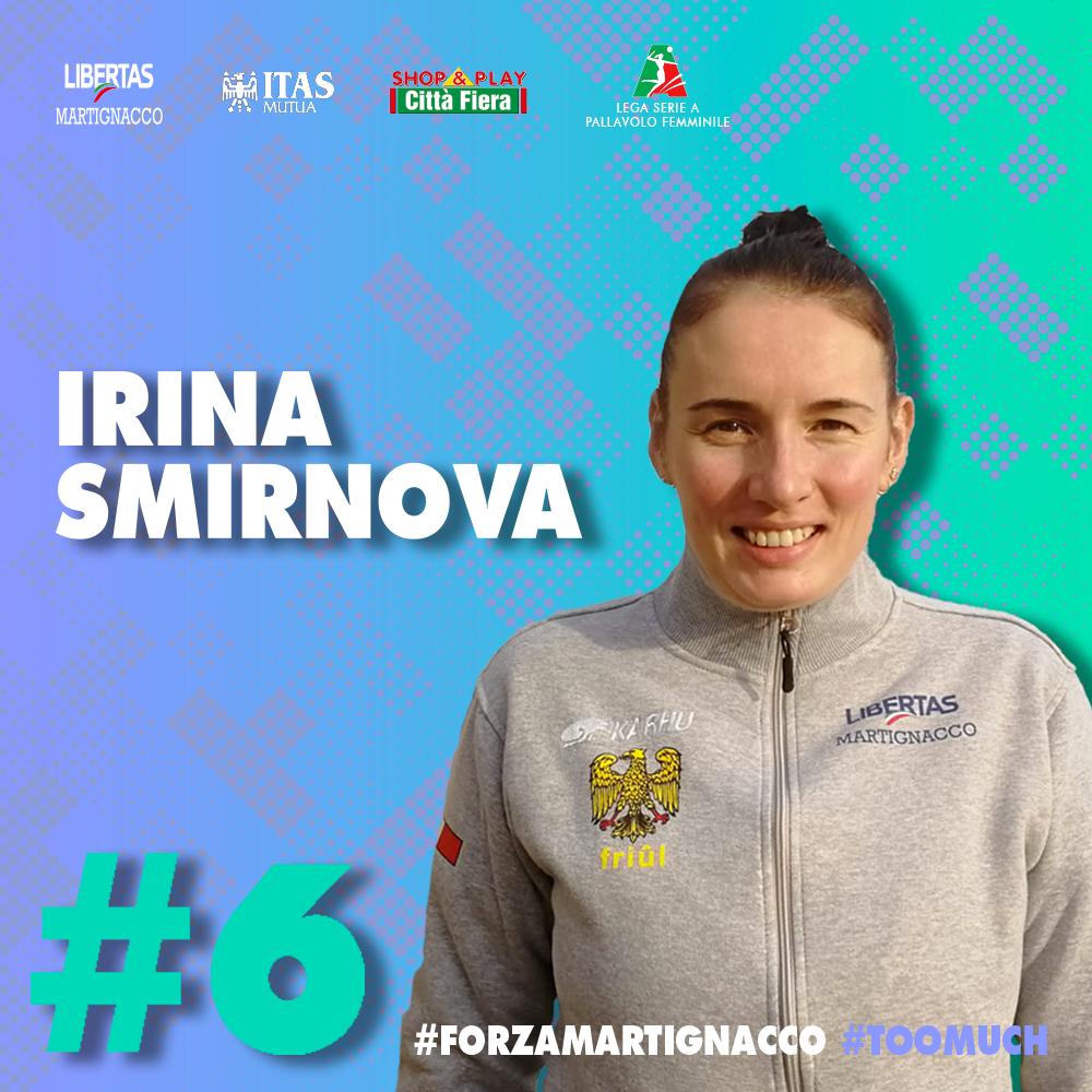 La Itas Città Fiera annuncia Irina Smirnova