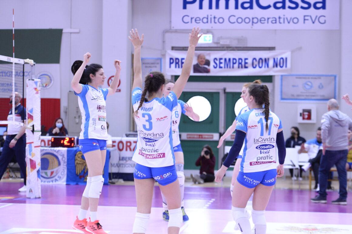 Itas Città Fiera – Montale 3-0