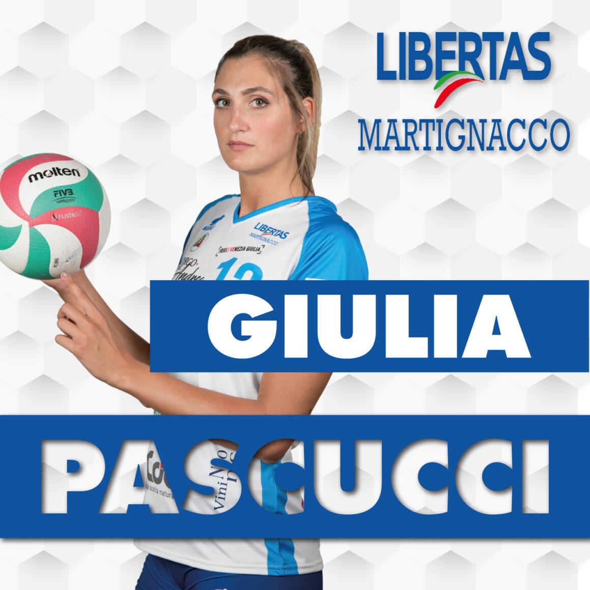 Giulia Pascucci sarà ancora la capitana della Libertas