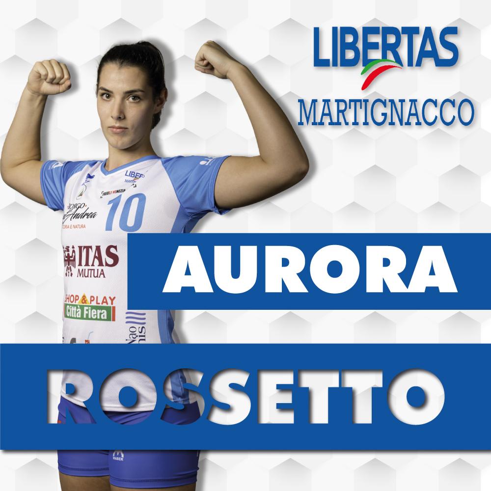 Aurora Rossetto resta con noi