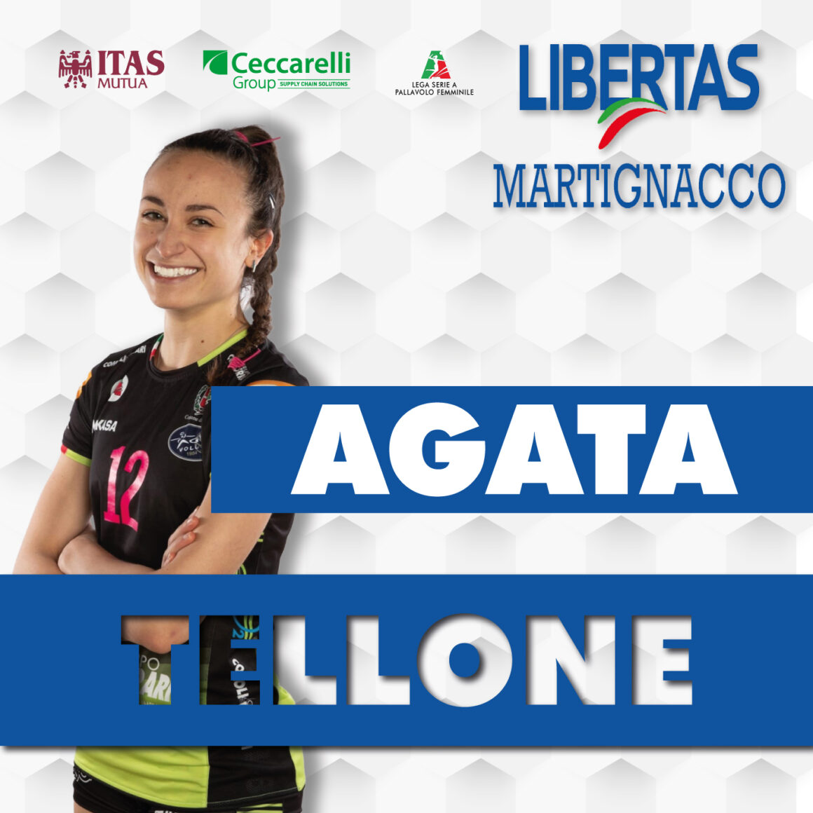 La Itas Ceccarelli Group si assicura Agata Tellone