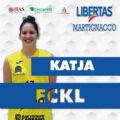 Un talento cristallino all'Itas Ceccarelli Group: Katja Eckl
