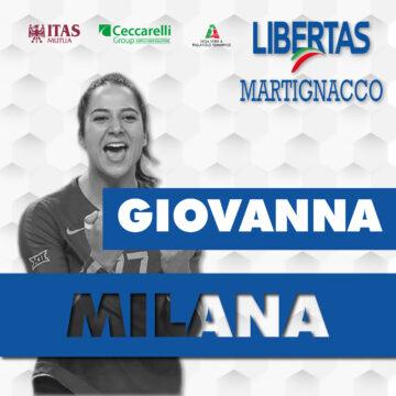 La Itas Ceccarelli Group ha la sua straniera: Milana!