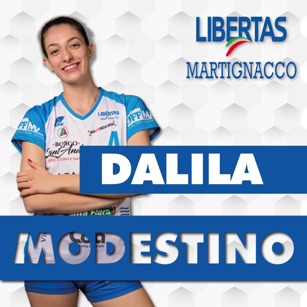 La confermata Dalila Modestina affiancherà Mazzoleni