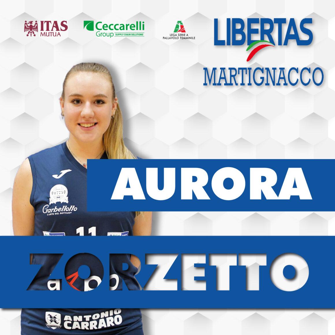 Aurora Zorzetto chiude il roster Itas Ceccarelli Group