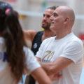 Milana ha esordito nell'allenamento congiunto a Vicenza